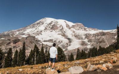 Panorama Point – Skyline Trail, Paradise, Mt Rainier – Hike Washington