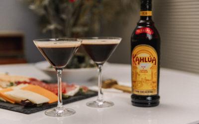 Holiday Dinner Idea ft. Simple & Festive Kahlúa Cold Brew Martini Recipe