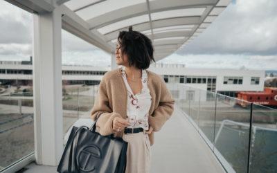 Telfar Medium Navy Shopping Bag REVIEW – Style & Senses